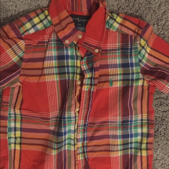 Polo by Ralph Lauren Other - Toddler boys short sleeve polo button down